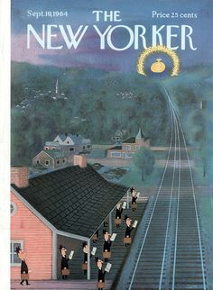 The New Yorker - Saturday, September 19, 1964 - Issue # 2066 - Vol. 40 - N° 31 - Cover by : Charles E. Martin