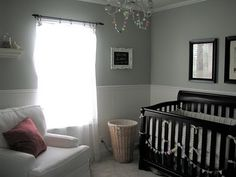 Silver Sage Paint Color by Restoration Hardware/Benjamin Moore - Gray Wisp