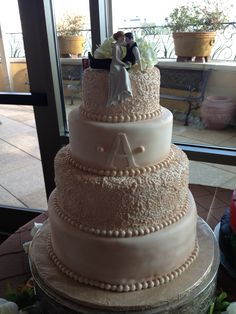 Alvarado Wedding Cake