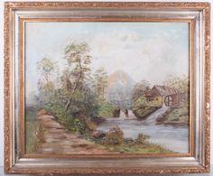 Lot: Maud Webb Oil on Canvas, Lot Number: 0023, Starting Bid: $40, Auctioneer: Bremo Auctions, Auction: Fine & Decorative Arts Auction, 1/21/17, Date: January 21st, 2017 EST