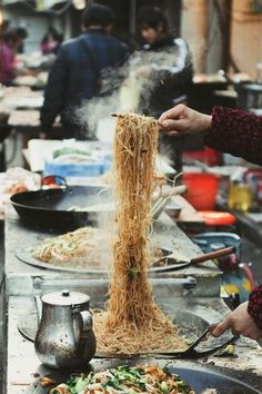 Homemade Shanghai Street Noodles                                                                                                                                                                                 Mais