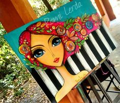 New collage art face ideas Ideas Art Pop, Stencil Painting, Fabric Painting, Collage Art Mixed Media, Whimsical Art, Art Plastique, Face Art, Art Pictures, Diy Art