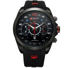 12.99$  Buy now - http://alipeb.shopchina.info/go.php?t=32373774649 - 2016 New Fashion Military Curren Brand Design Army Calendar Men Male Clock Sport Rubber Luxury Wrist Watch relogio masculino  #aliexpress