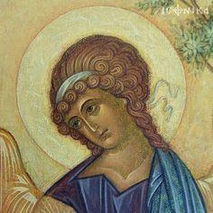 . Byzantine Icons, Byzantine Art, Religious Icons, Religious Art, Trinidad, Holy Mary, Art Icon, Orthodox Icons, Mona Lisa