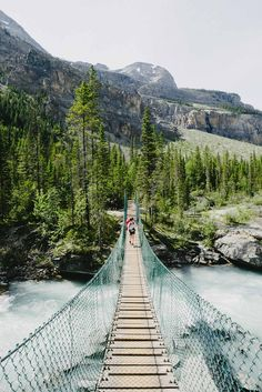 """""""On the Berg Lake Trail"""" .ca Walking to Berg Lake in the beautiful Mt Robson Provincial Park of British Columbia - Canadian Travel, Beautiful Places To Travel, Beach Trip, The Great Outdoors, Places To See, Trail, Travel Photography, National Parks, British Columbia"""