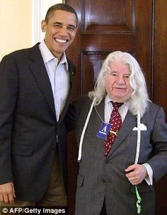George de Paris pictured with Barack Obama last year