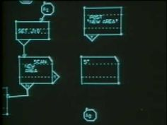 """Alan Kay demonstrates a GRaIL (GRaphical Input Language) system from about 1968. From """"Doing With Images Makes Symbols: Communicating With Computers"""""""
