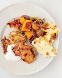 Curried-Chicken and Vegetable Pan Roast Recipe on Food & Wine