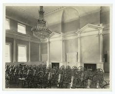 Council Chamber, Old State House,  Hartford, Connecticut