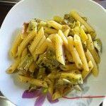 Pasta con i carciofi al profumo di limone