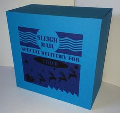 Special Delivery Gift Box SVG STUDIO MTC commercial on Craftsuprint - View Now!