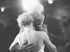 This and the mother-son dance are classic, emotional moments that make for touching photographs.