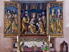 Heilsbronn, Münster: Ostchor, Hochaltar (Wohlgemuthsche Werkstatt, 1502-1510)