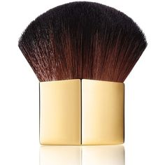 Aerin Kabuki Brush (795 MXN) ❤ liked on Polyvore featuring beauty products, makeup, makeup tools, makeup brushes, beauty, cosmetics, belleza and no color
