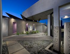 Stunning ultra-modern single family property designed by Urban Design Associates located in Desert Mountain, Arizona.