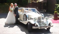 Wedding Cars Hire North East - Vintage 1930's Style Beauford Convertible Wedding Car