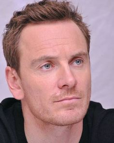 I can't stare into those eyes forever!! ❤️ #MichaelFassbender