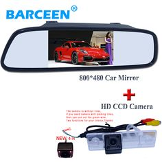 "4.3"" car  mirror monitor  with ccd image sensor original car  parking camera for  Chevrolet Epica/Lova/ Aveo/Captiva"