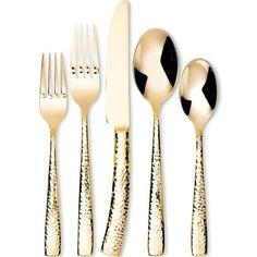gold silverware - Google Search