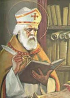 St. Isidore of Sevilla, born around 560 AD, day of remembrance April 4th, great scholar and one of the most important authors + scientists in early medieval Europe, possible patron of the internet (not officially declared by the catholic church). Most important work and method: Etymologia.