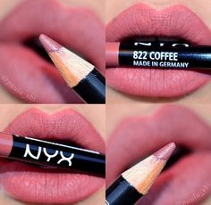 Coffee is such a pretty pencil! #nyxcosmetics