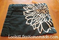 Placemat Purse or Bag - quick, easy and useful project!