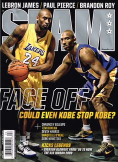 SLAM Los Angeles Laker Kobe Bryant appeared on the cover of the issue of  SLAM Magazine 30c2faccb0e