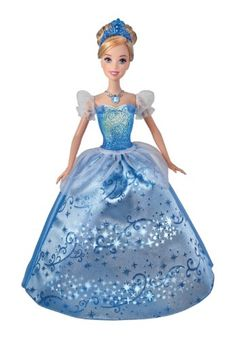 Disney Princess Swirling Lights Cinderella Doll « Game Searches