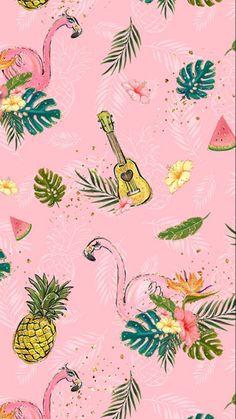 59 Ideas for wall paper iphone pineapple desktop wallpapers Flamingo Wallpaper, Summer Wallpaper, Trendy Wallpaper, Pink Wallpaper, Pattern Wallpaper, Cute Wallpapers, Wallpaper Backgrounds, Desktop Wallpapers, Cellphone Wallpaper