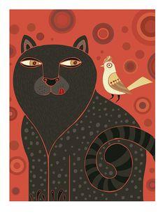 Gato goloso by montt on Etsy