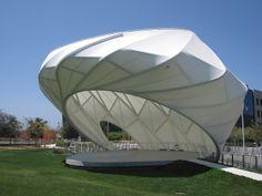 Best Tensile Fabric Shade Structure - BAIT AL NOKHADA