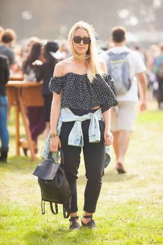 Outside Lands Fashion - Music Festival Street Style