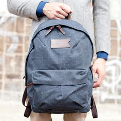 Back to school - kis with solid colors and s bit of texture, make sure the bag's not too big or too small, fits the width of your back well.