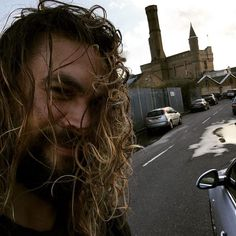 Pin for Later: 32 Hot Celebrity Male Selfies We've Already Been Treated To in 2016 Jason Momoa