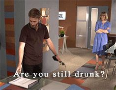 """""""Anders, are you still drunk?"""" Dean O'Gorman as Anders the drunk in the Almighty Johnsons (gif set). The Almighty Johnsons, Dean O'gorman, Kili, Drama Series, I Got You, Man Humor, Best Shows Ever, Lotr, Tvs"""