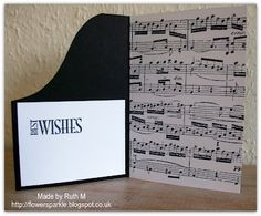 Flower Sparkle Piano Birthday Wishes Card For Alan Cards Music Notes