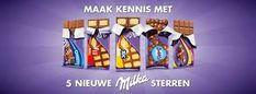 Afbeeldingsresultaat voor reclame chocolade