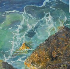 #Teneriffa #Meer #Wasser #Malerei #Kunst Create Yourself, Etsy Seller, Impressionist, Creative, Painting, Art, Painted Canvas, Teneriffe, Water