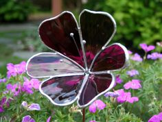 Stained Glass Flowers | Request a custom order and have something made just for you.