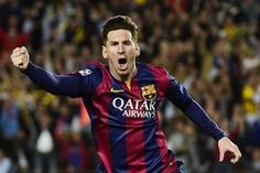 Lional Messi was the star again as he set up the first goal, scored two himself and also found time to miss a penalty in Barcelona's 4-1 win over Levante.