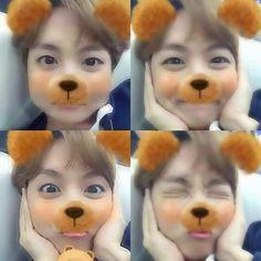 You are so adorable Hobi❤️️