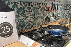 Ikea Kitchen with Caltagirone's Tiles