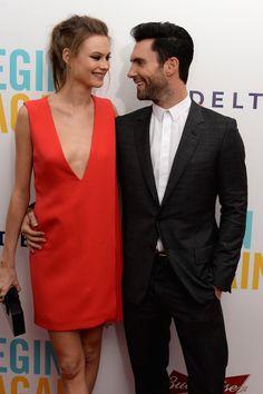 Adam Levine in 'Begin Again' Premieres in NYC