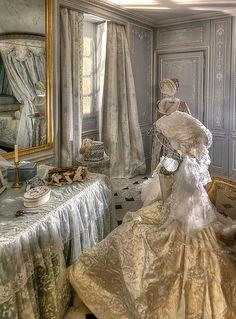 Pièce des bains de Marie-Antoinette -   Piece des bains de Marie-Antoinette  4/9 by Ganymede2009, via Flickr  Au sein du Petit Appartement de la Reine