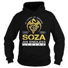 SOZA An Endless Legend (Dragon) - Last Name, Surname T-Shirt