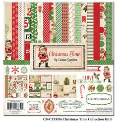 """Carta Bella """"Christmas Time"""" Paper Collection is 53% off!"""