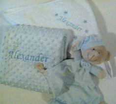La canastilla de Alexander muy practica#canastillabebe#vueltaalcole#Bordados bebe