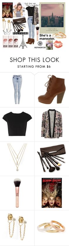 """""""My Favorite Outfit"""" by sukh-deol ❤ liked on Polyvore featuring Topshop, Alice + Olivia, ONLY, Forever 21 and Borghese"""