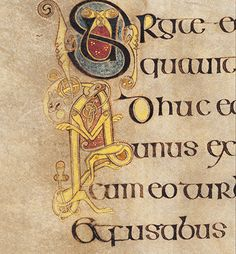 The Book of Kells - in pictures