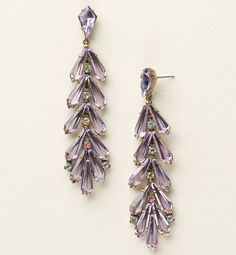 Sorrelli Spring Rain Crystal Teeming Teardrop Post Earrings - Sorrelli Jewelry - Jewelry